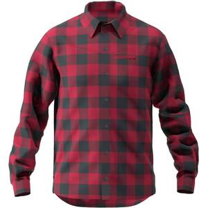 Zimtstern Timbaz T-shirt Manches longues Homme, rouge/noir rouge/noir