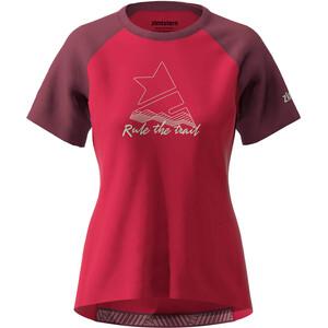 Zimtstern PureFlowz SS-skjorte Dame rød rød