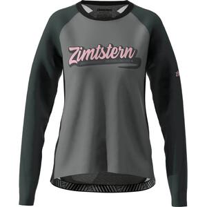 Zimtstern ProTechZonez Langarmshirt Damen glacier grey/pirate black glacier grey/pirate black