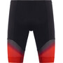 Löffler Evo Kurze Rad Tights Herren black/red