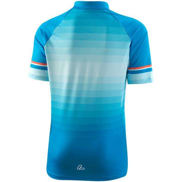 Löffler Evo Half-Zip Bike Jersey Kids brillant blue