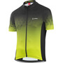 Löffler Evo Full-Zip Fahrradtrikot Herren black/light green