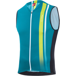 Löffler Aero Full-Zip Bike Tanktop Men enamel blue enamel blue