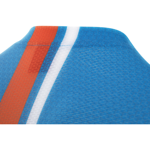 Löffler Aero Full-Zip Bike Tanktop Men brillant blue