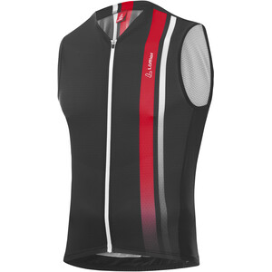 Löffler Aero Full-Zip Bike Tanktop Men anthracite anthracite