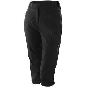 Löffler CSL Pantalon de cyclisme 3/4 Femme, noir noir