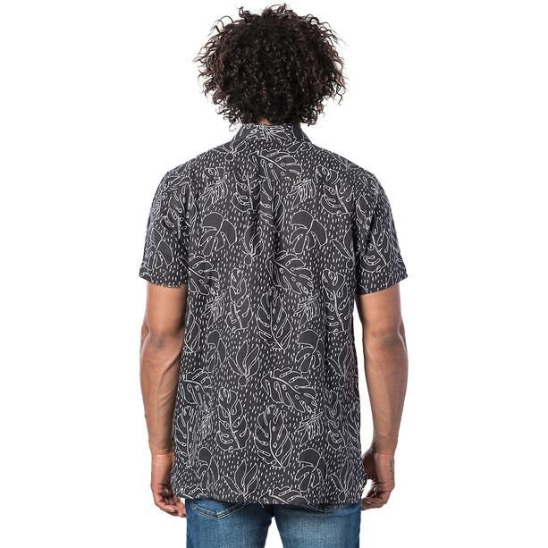 Rip Curl SWC Motif Linen Kurzarmhemd Herren black