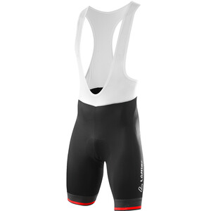 Löffler hotBOND Bike Bib Shorts Men black/red black/red