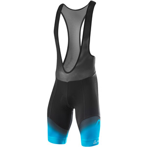 Löffler Evo Bike Bib Shorts Men black/brilliant blue black/brilliant blue