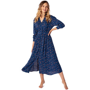 Rip Curl Beach Muse Langes Kleid Damen pacific blue pacific blue