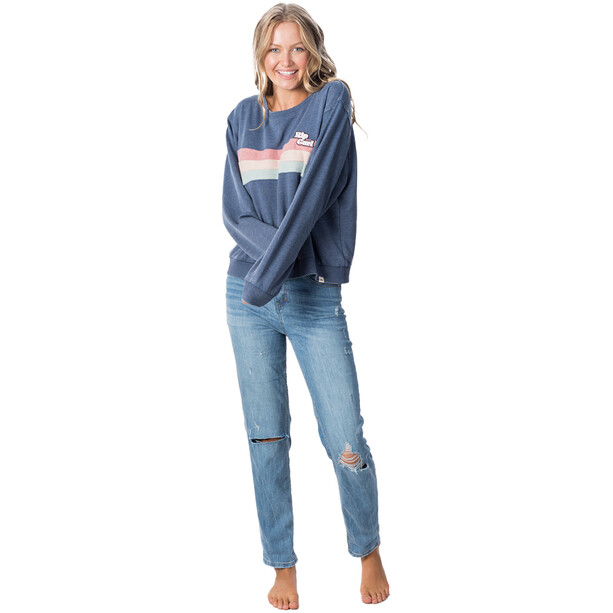 Rip Curl Revival Rundhals Pullover Damen slate blue