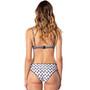 Rip Curl Odesha Geo U/Wire B Cup Bikini Top Dames, blauw