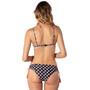Rip Curl Odesha Geo Fixed Tri Bikini Top Damen black