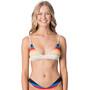 Rip Curl Keep On Surfin Trilet Bikini Top Damen navy