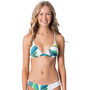 Rip Curl Palm Bay Crossback Tri Bikini Top Damen white