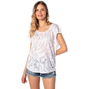 Rip Curl Viamala Flower T-Shirt Damen white white