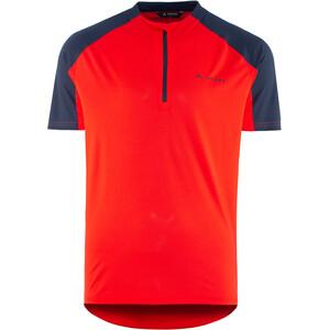 VAUDE SE Me Maro Half-Zip T-Shirt Herren mars red mars red