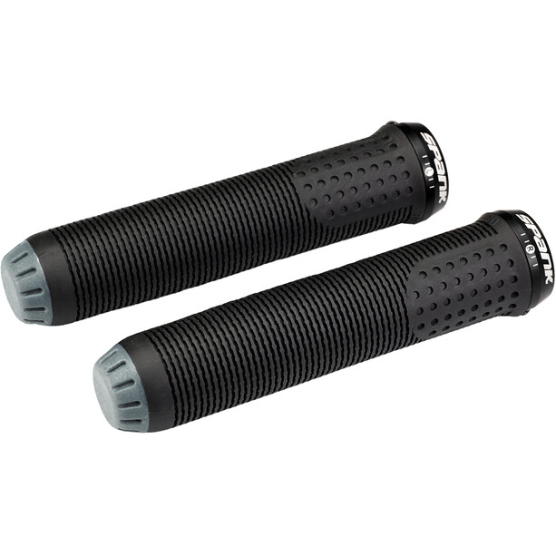 Spank Spike 30 Lock-On Grips black/grey