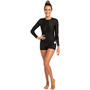 Rip Curl L/S Boyleg UV Surfsuit Damen black