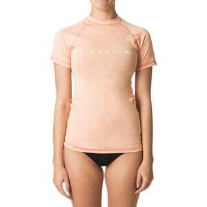 Rip Curl Sunny Rays Relaxed Kurzarm UV T-Shirt Damen peach peach