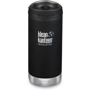 Klean Kanteen TKWide VI Vacuum Insulated Bottle with Cafe Cap 2.0 355ml svart svart