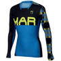 Karpos Jump LS Jersey Men bluette/black/yellowfluo