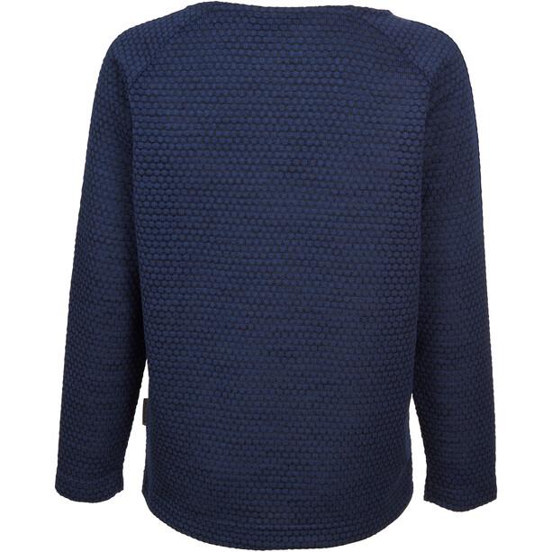Elkline Highlife Fleece Pullover Mädchen darkblue