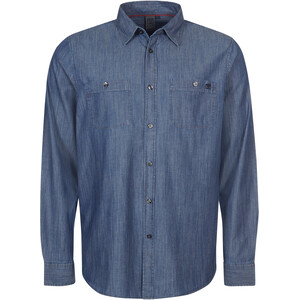 Elkline Cityguide Camiseta Manga Larga Hombre, azul azul