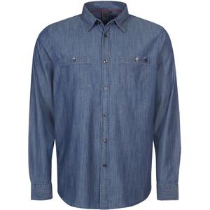 Elkline Tailormade Langarmhemd Herren blau blau