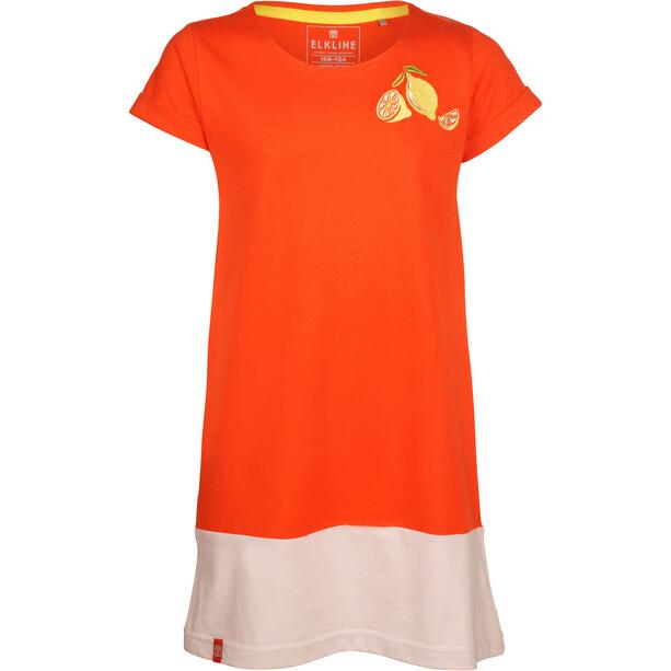 Elkline Fruity Robe Fille, orange