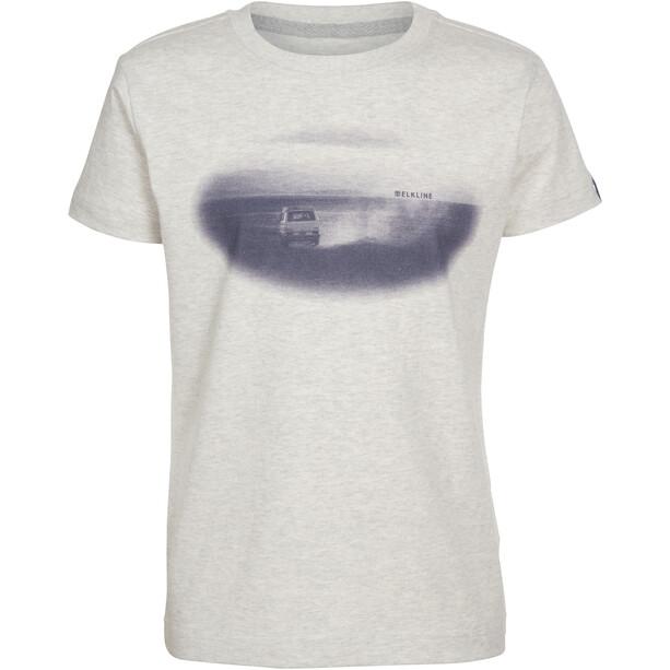 Elkline Racer T-shirt Enfant, lightgreymelange