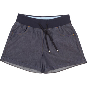 Elkline Toohot Shorts Damen darkdenim darkdenim