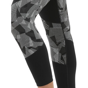 2XU Fitness Mid-Rise 7/8 Kompressions Tights Damen black/arty camo charcoal black/arty camo charcoal