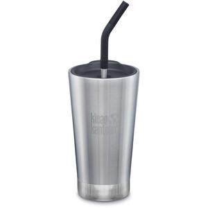 Klean Kanteen Tumbler Vacuum Insulated Mug 473ml brushed stainless brushed stainless