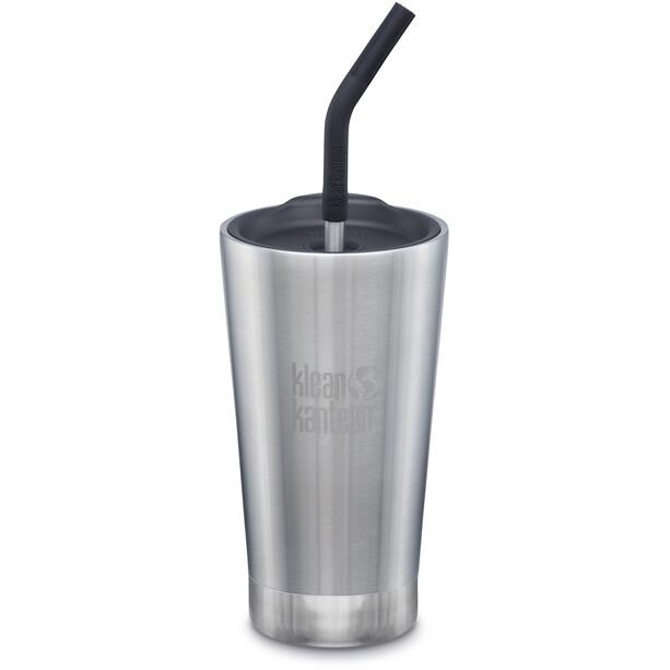Klean Kanteen Tumbler Vacuum Insulated Mug 473ml brushed stainless