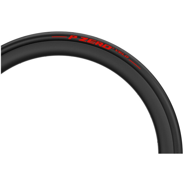 Pirelli P Zero Velo Faltreifen 700x25C Limited Edition black/red