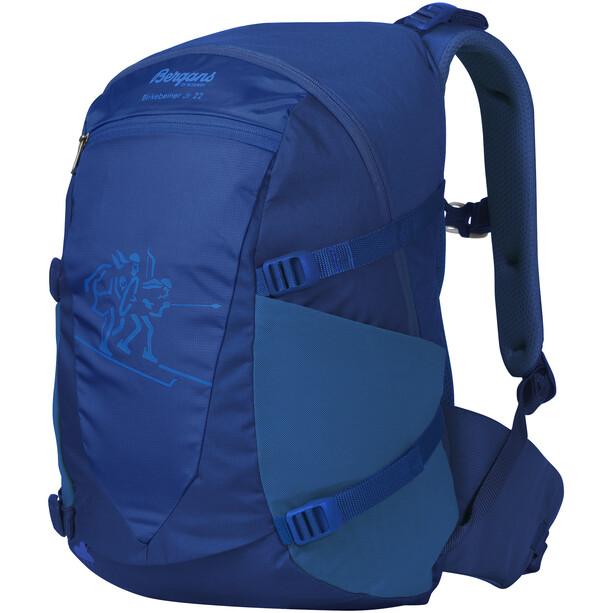 Bergans Birkebeiner 22 Rucksack Jugend dark royal blue/athens blue