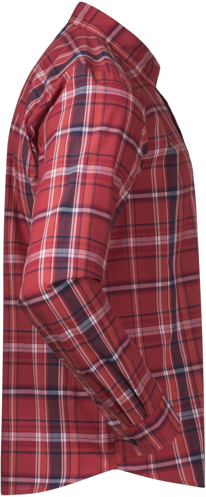 Bergans Kikut Shirt Men red check