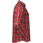 Bergans Tovdal Long Sleeve Shirt Men red sand check