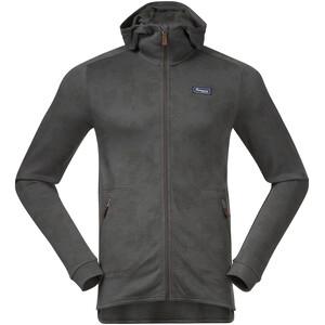 Bergans Tuva LT Hooded Wool Jacket Men green mud green mud