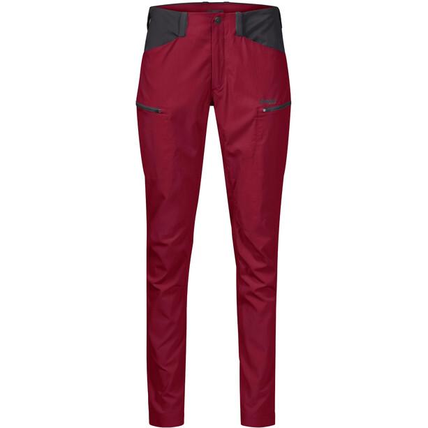 Bergans Utne Pantalon Femme, rouge