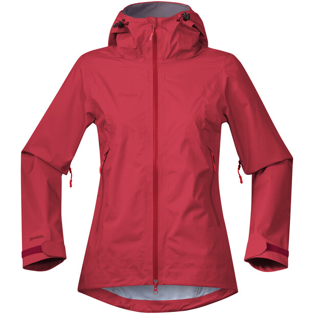 Bergans Letto Jacke Damen red/fire red