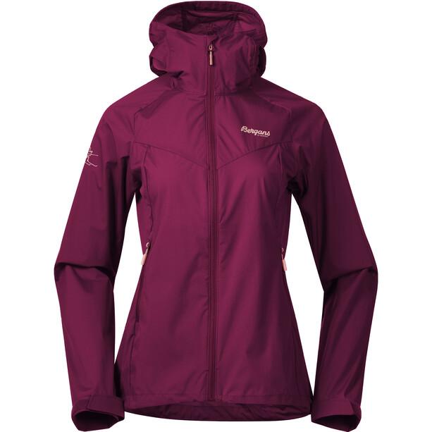 Bergans Microlight Jacke Damen beet red