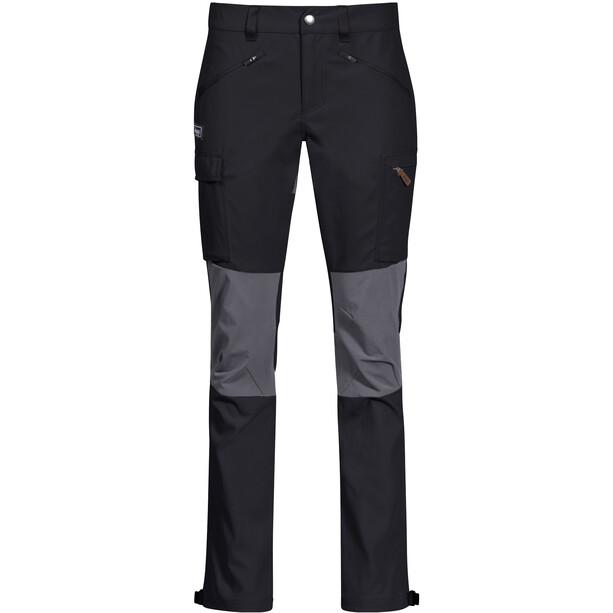Bergans Nordmarka Hybrid Hose Damen schwarz/grau