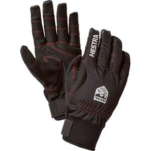 Hestra Ergo Grip Long 5-vinger Handschoenen, zwart zwart