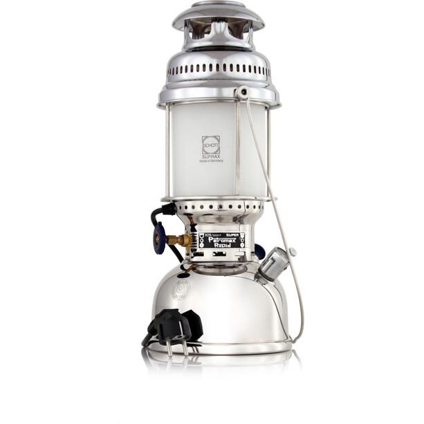 Petromax HK500 Electro Tafellamp Verchroomd Messing
