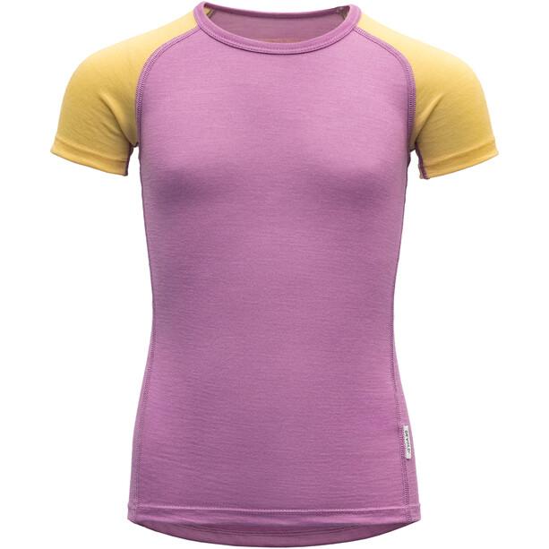 Devold Breeze T-Shirt Kids iris
