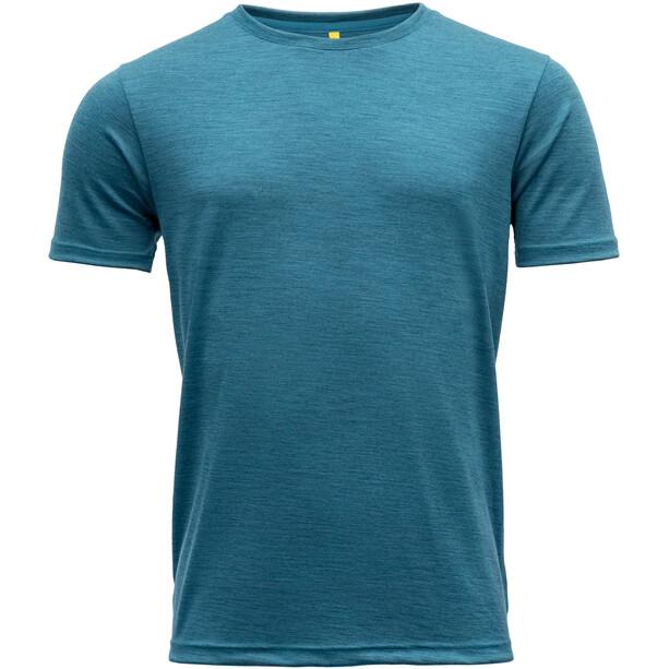 Devold Eika T-Shirt Herren blue melange