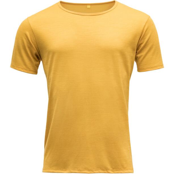 Devold Sula T-Shirt Herren gelb