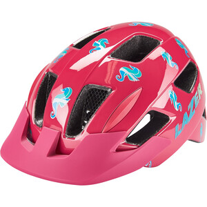 Lazer Lil Gekko Helm mit Insektenschutznetz Kinder pink sea pony pink sea pony